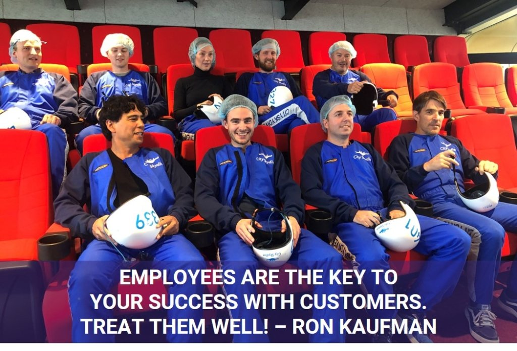 Succes - employees - customers